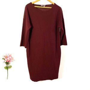 VINCE Shift Med-length Dress